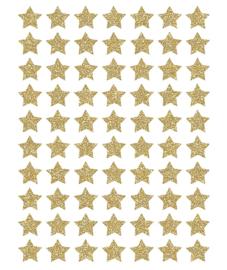 Muurstickers kinderkamer Stars Gold (Glitter) Lilipinso