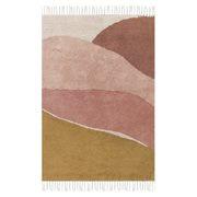 Kinderkamer Vloerkleed Horizon Pink 130 x 90 cm