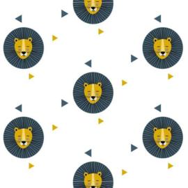 Behang Kinderkamer Leeuw