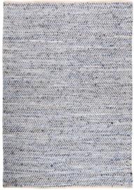 Vloerkleed Atlas Ecru/Blue 160 x 230 cm