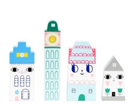 Houten kinderkamer accessoires Suzy's City Petit Monkey
