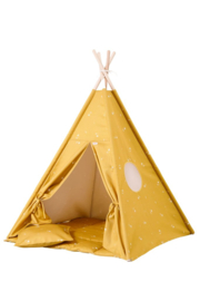 Tipi Tent / Speeltent Kinderkamer Honey Mustard