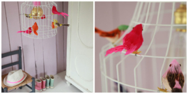 Hanglampen Kinderkamer Vogeltjes