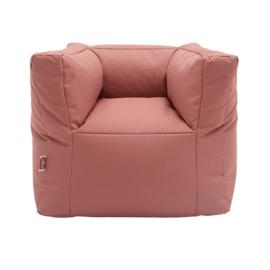 Fauteuiltje beanbag Mellow Pink van Jollein
