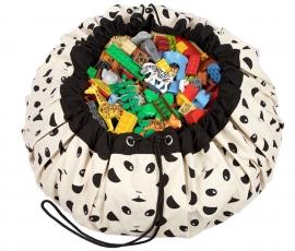 "Play & Go Opbergzak en Speelgoedkleed ""Panda"""