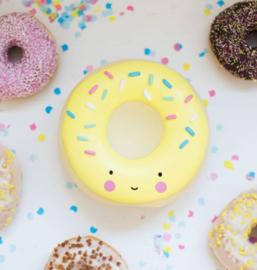 Spaarpot Gele donut A Little Lovely Company