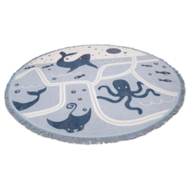 Vloerkleed Kinderkamer Little Deep Blue Sea