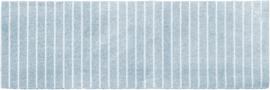 Vloerkleed Kinderkamer Evita Blue Mini collectie 50 x 150 cm