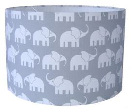 "Hanglamp Kinderkamer ""Elephant"" Grijs"