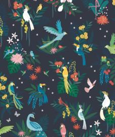 Behang Kinderkamer Birds Carnival