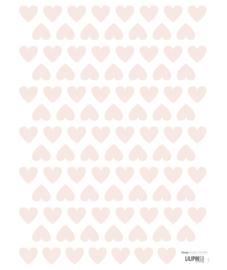 Muurstickers Kinderkamer Pink Hearts Lilipinso