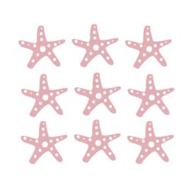 Muurstickers Kinderkamer Zeesterren Roze