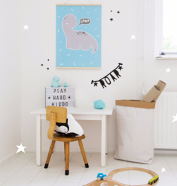 Poster Kinderkamer Brontosaurus A Little Lovely Company