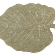 Vloerkleed Kinderkamer Monstera Leaf Olive Lorena Canals