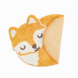 Kinderkamer vloerkleed Sleeping Fox