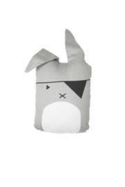 Knuffel Kussen Kinderkamer Pirate Bunny Fabelab