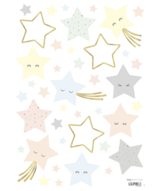 Muurstickers kinderkamer Laughing Stars Lilipinso