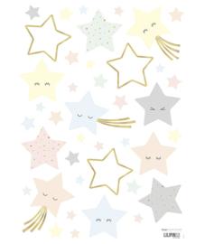 Muurstickers kinderkamer Laughing Stars Lilipinso