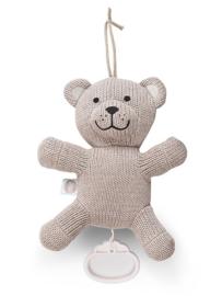 Muziekhanger Natural Knit Bear Sand Jollein