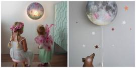 Wandlampen Babykamer