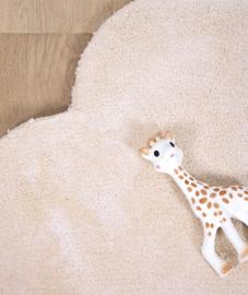Vloerkleed Kinderkamer Wolk Pastel Oranje van Lilipinso