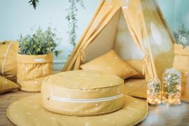 Poef Kinderkamer Honey Mustard