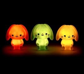 Nachtlampje kinderkamer Bunny – Wit Petit Monkey