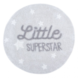 Vloerkleed Kinderkamer Little Superstar Mr. Wonderful Lorena Canals