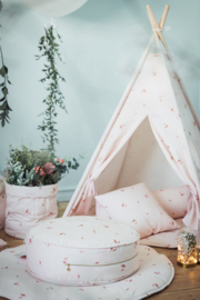 Poef Kinderkamer Misty Rose