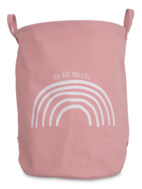 Mand XL Canvas Rainbow Blush Pink