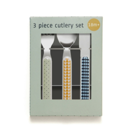 Cutlery Set Mouse Drops Pebble Petit Monkey