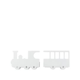 Kinderkamer Boeken Wandplank Train White