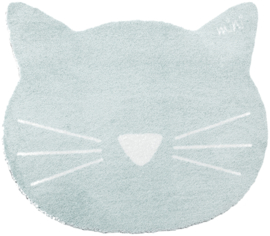 Vloerkleed Kinderkamer Cat Earnie Mint Mini collectie 70 x 80 cm
