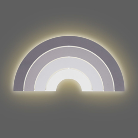 Wandlamp Rainbow Grey Jollein