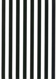 Behang Kinderkamer Zwart/ Wit gestreept Fabs World