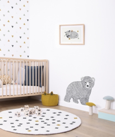 Muursticker Kinderkamer XL Bear Lilipinso