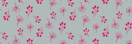 Vloerkleed Kinderkamer Pink Flowers