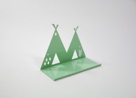 Wandplank Kinderkamer Tipi Shelf Mint