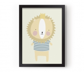 """Poster Kinderkamer """"Majestic Lion"""" Eef Lillemor"""