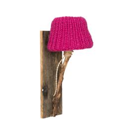 "Kinderkamer Wandlamp hout ""Fuchsia"""