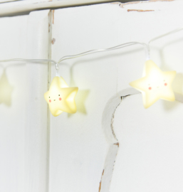 String Lights Ster-Yellow A Little Lovely Company