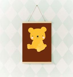 Poster Kinderkamer Beertje Saltes Caramel