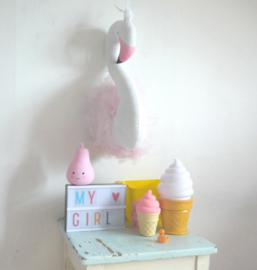 Mini Icecream Light Roze A Little Lovely Company