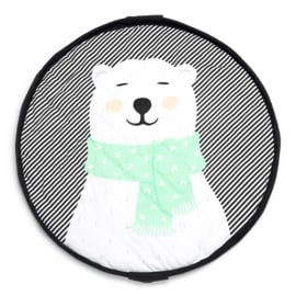 Play & Go Opbergzak en Speelgoedkleed Soft Polar Bear