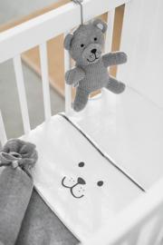 Muziekhanger Natural Knit Bear Grey Jollein