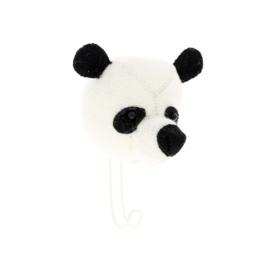 Wandhaakje Dierenkop Panda van Fiona Walker