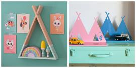 Wandplanken Kinderkamer & muurdeco
