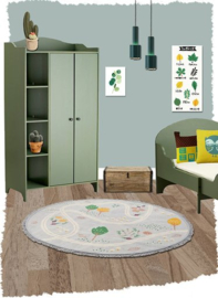 Vloerkleed Kinderkamer Little Garden Nattiot