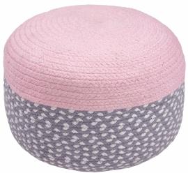 """Poef Kinderkamer """"Roundy Pink"""""""