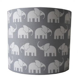 "Wandlamp Kinderkamer ""Elephant"" Grijs"